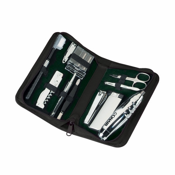 Monogrammed Travel and Grooming Kit
