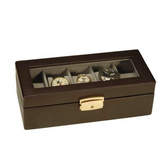 Monogrammed Watch Storage Box With Your Initials