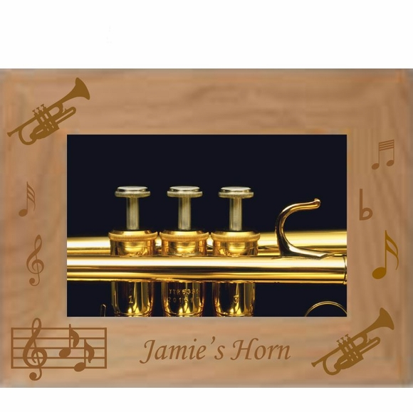 Musical Instrument Personalized Picture Frame