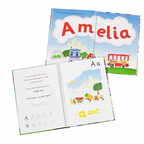 My Name Is Personalized Children's Book