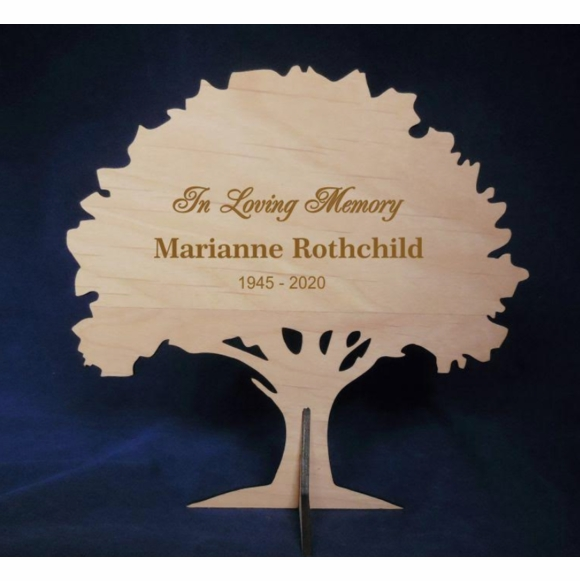 Oak Tree Sympathy Gift - Engraved Memorial Tree