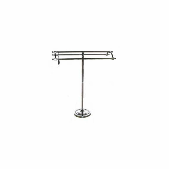 Pedestal Towel Rack