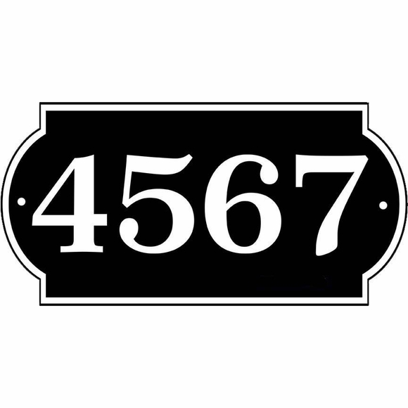 Personalized Home Address Sign