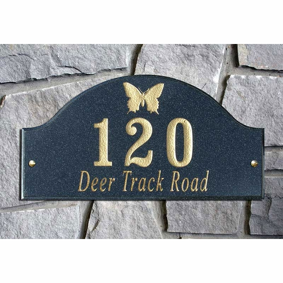 Personalized Animal and Wildlife Address Plaque