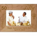 Personalized Custom Engraved Anniversary Picture Frame for 30th, 40th, 50th, 60th Anniversaries and All Other Years