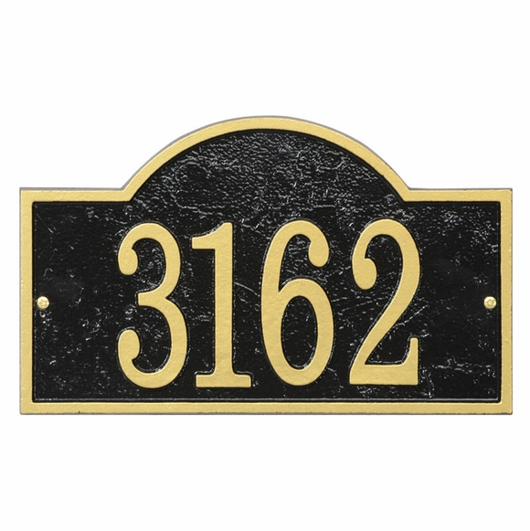 Arch House Number Plaque - Address Plaque