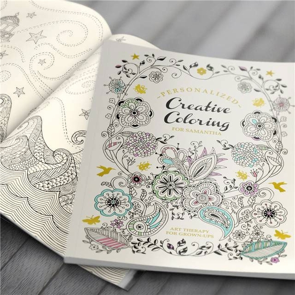 Personalized Art Therapy Coloring Book