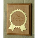 Personalized Award Ribbon Plaque Father's Day Gift