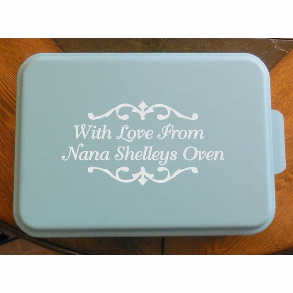 Personalized Baking Pan - Unique Gift For Bakers