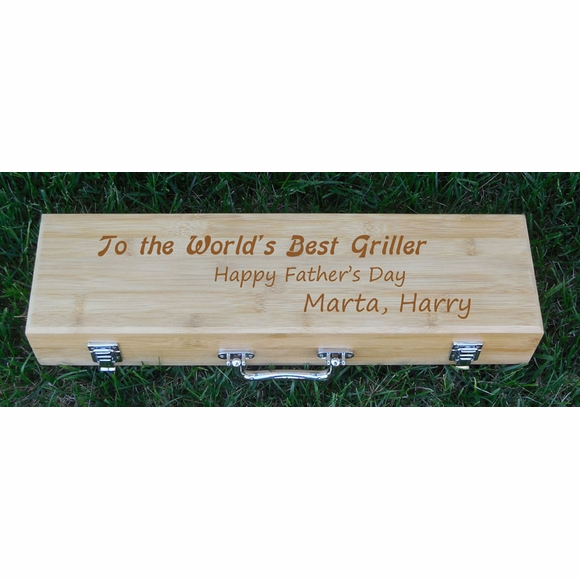 Personalized Barbecue Set