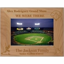 Personalized Baseball Picture Frame To Remember The Game - Custom Engraved