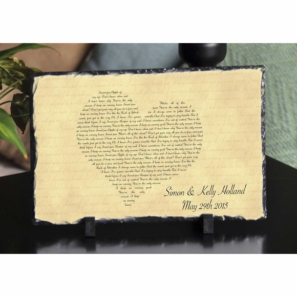 Personalized Bible Verse Plaque