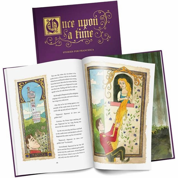 Personalized Book of Fairy Tales for Kids