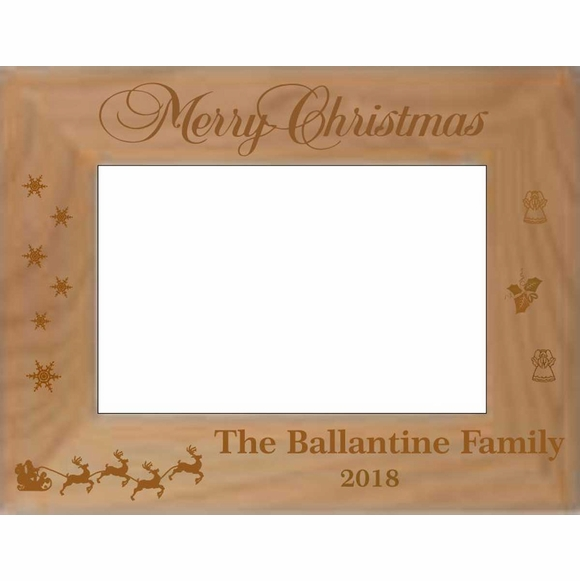 Personalized Christmas Picture Frame