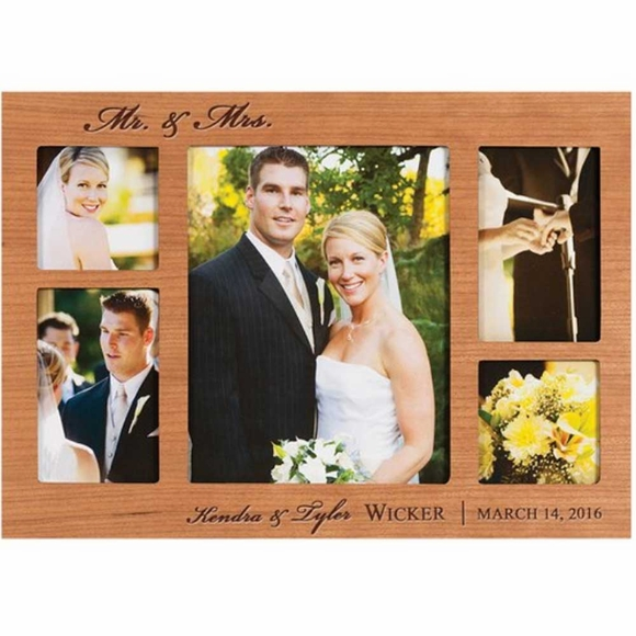 Personalized Collage Wedding Picture Frame