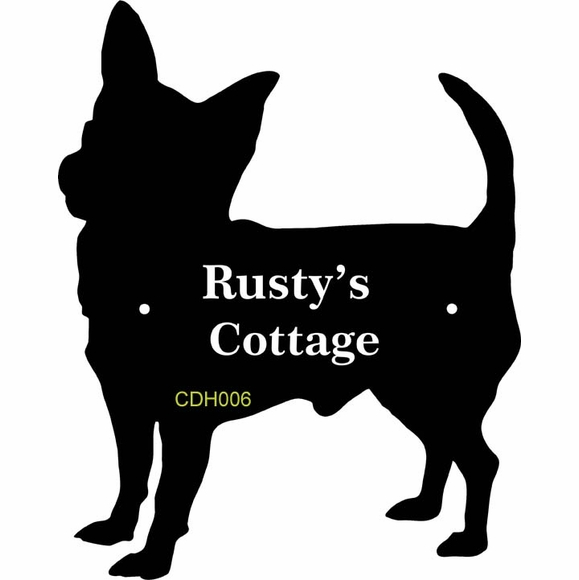 Personalized Dog House Sign