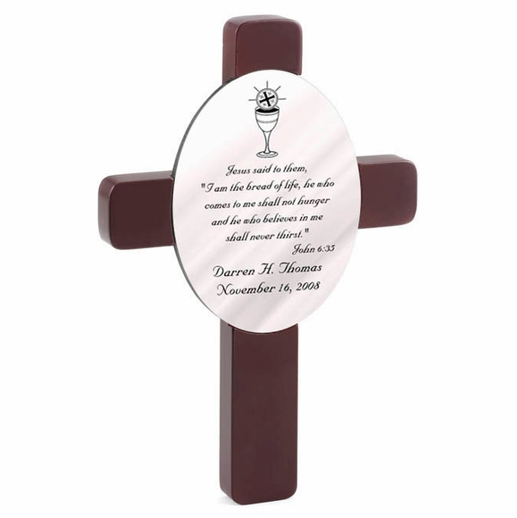 Personalized First Communion Cross