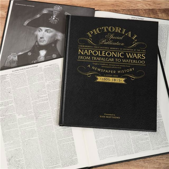 Personalized Gift Historical Newspaper Napoleonic Wars