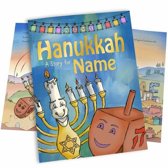 Personalized Hanukkah Story Book for Kids