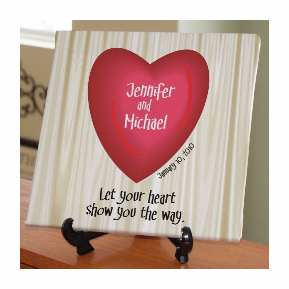 Personalized Heart Wall Art