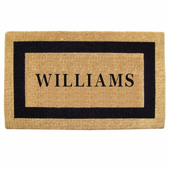 Personalized Heavy Duty Coco Door Mat