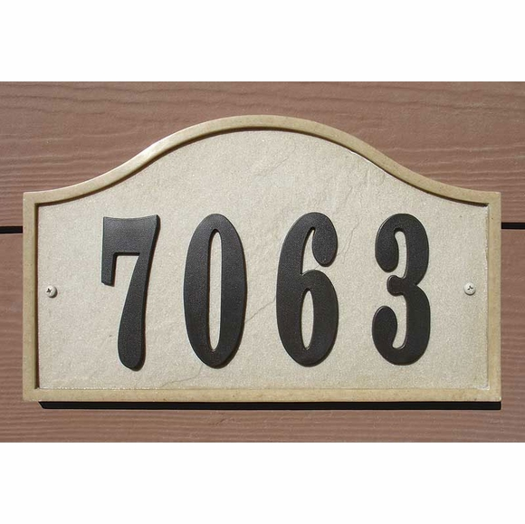Personalized House Number Sign Kit