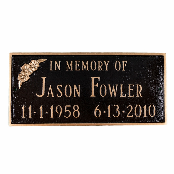 Personalized In Memory Of Plaque