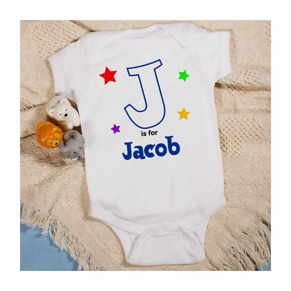 Personalized Infant Shirt