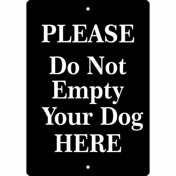 Personalized Keep Dog Off Lawn Sign, No Dog Poop, Clean Up After Your Dog, Keep Off Grass - Your Custom Wording
