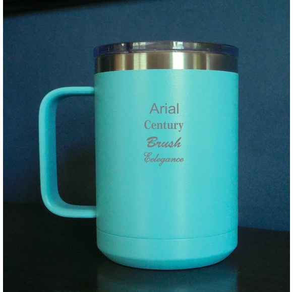 Personalized Left Handed Coffee Mug Stainless Steel
