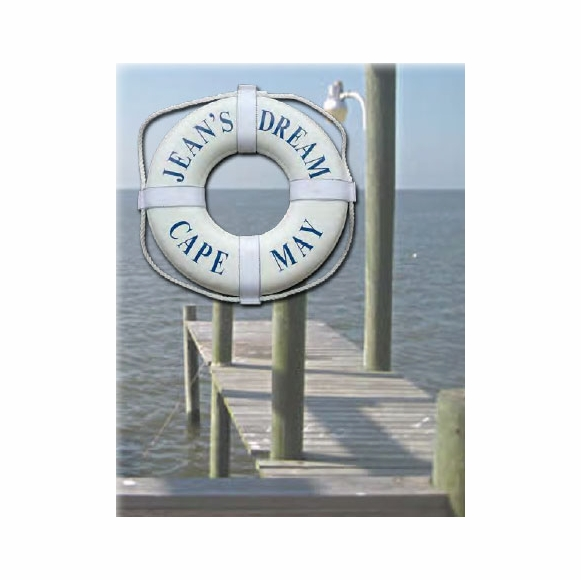 Personalized Life Ring Buoy