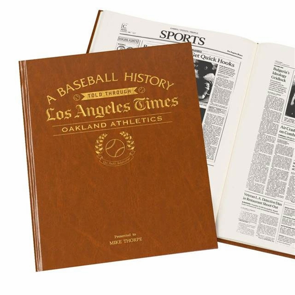 Personalized Los Angeles Times MLB Book