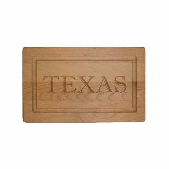Personalized Maple Wood Cutting Board Engraved With Name, Initials, or Message on Front and Back