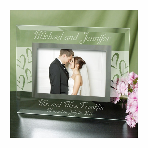 Personalized Mr. And Mrs. Picture Frame