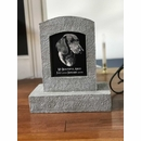 Personalized Pet Memorial Stone with Photo of Your Pet