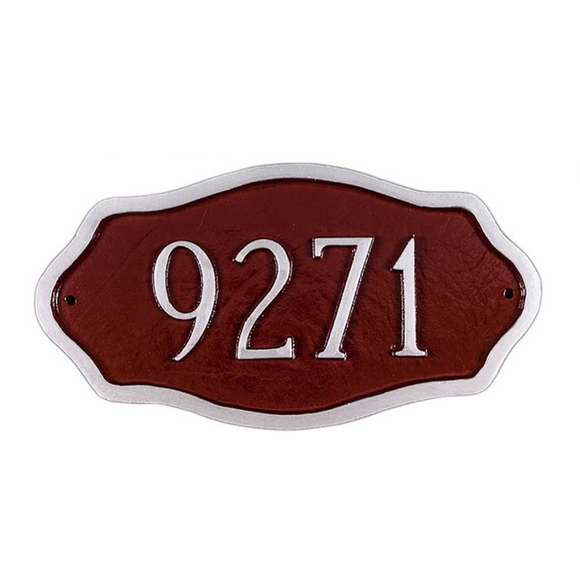 Personalized Petite Address Number Sign
