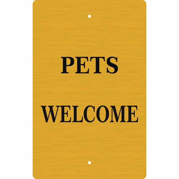 Personalized Pets Welcome Sign - Dogs Welcome Sign
