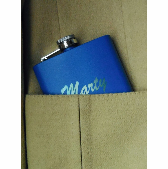 Personalized Engraved Pocket Flask