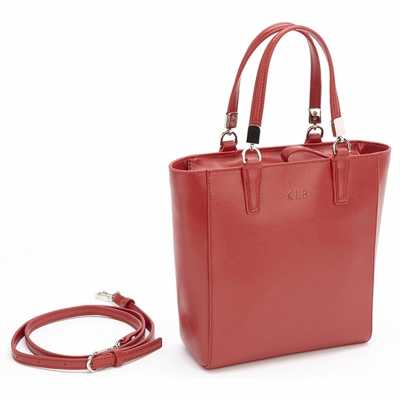 Personalized RFID Blocking Leather Mini Tote Bag