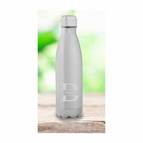 Personalized Stainless Steel Water Hydration Bottle