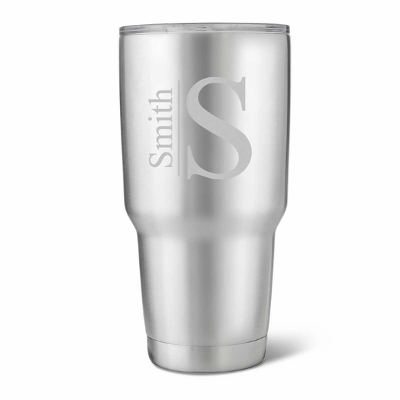 Personalized Stainless Steel Insulated Tumbler - 30 Ounces