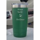 Personalized Boat Name Stainless Steel Tumbler