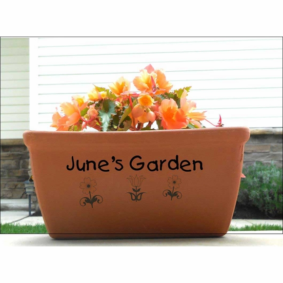Personalized Terra Cotta Planter