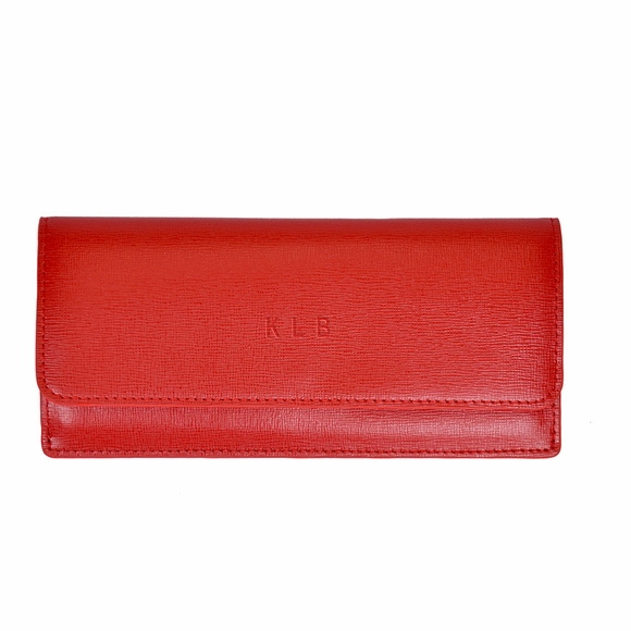 Personalized Tracking Wallet with RFID Block for Women