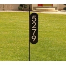 Personalized Two Sided Reflective Yard Marker