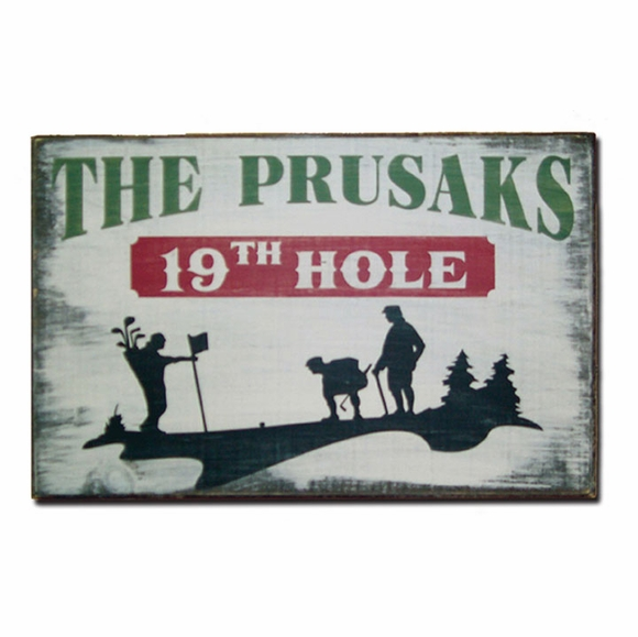 Personalized Vintage Wood Sign