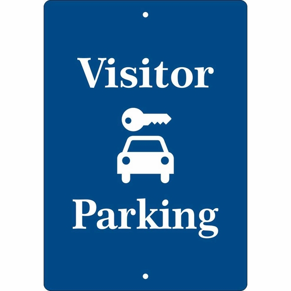 Personalized Visitor Parking Sign