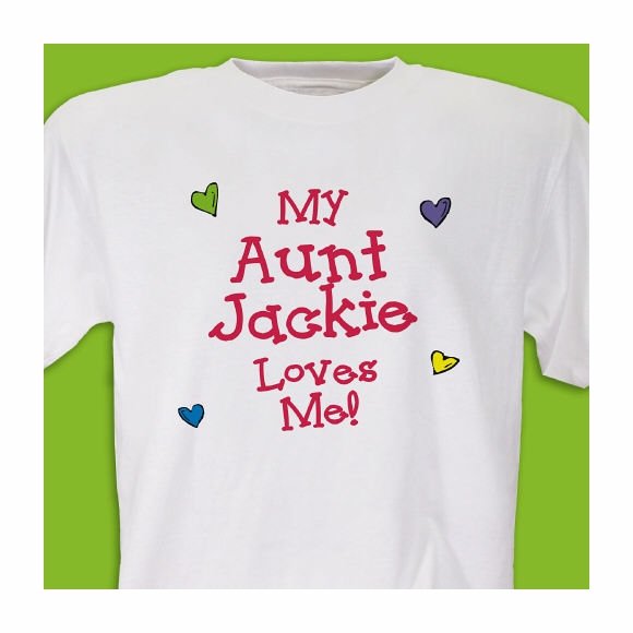 Personalized Who Loves Me T-shirt