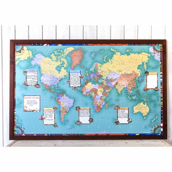 World Bucket List Map
