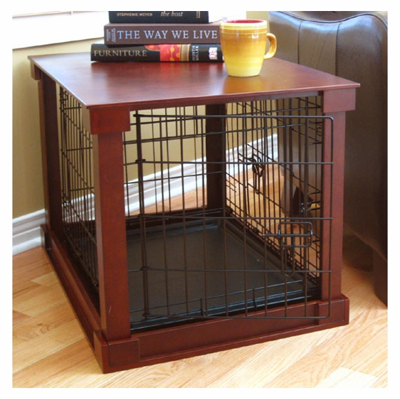 Pet Crate Cover with Pet Cage